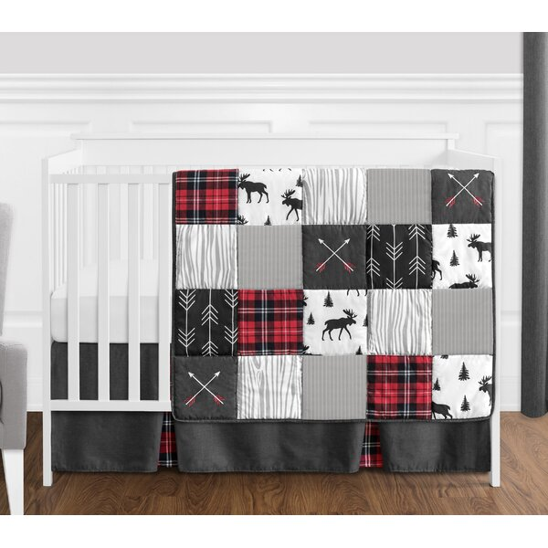 Rustic Patch 4 Piece Crib Bedding Set by Sweet Jojo Designs