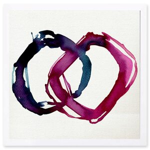 'Tessellate' Framed Graphic Art by Willa Arlo Interiors