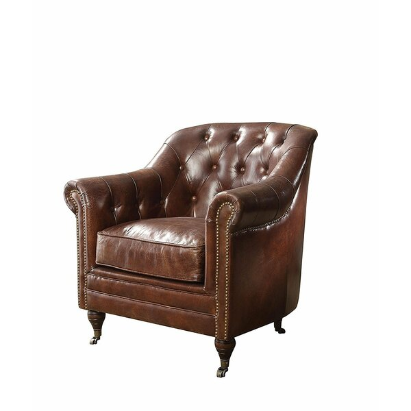 Basham Vintage Club Chair by Canora Grey