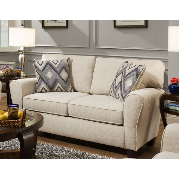 Vanness Loveseat by Charlton Home