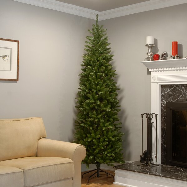 Green Fir Artificial Christmas Tree with Stand by Mercury Row