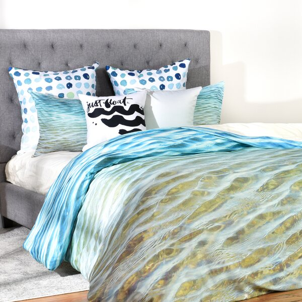 Rory Ombre Sea Duvet Cover by Langley Street