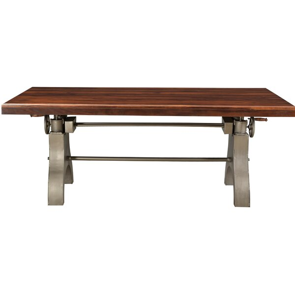 Orduna Solid Wood Dining Table by Williston Forge Williston Forge