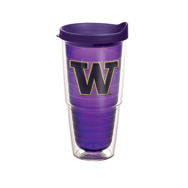 Collegiate N-Z Washington Amethyst 24 Oz. Tumbler by Tervis Tumbler