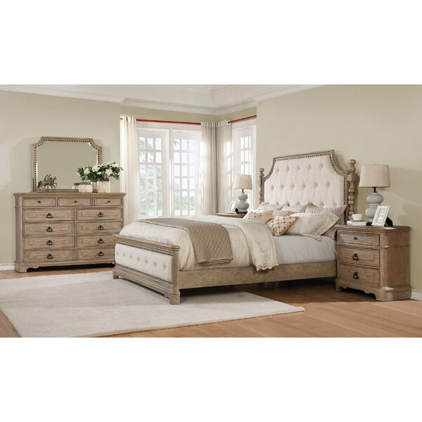 Pennington Platform 5 Piece Bedroom Set By One Allium Way by One Allium Way No Copoun