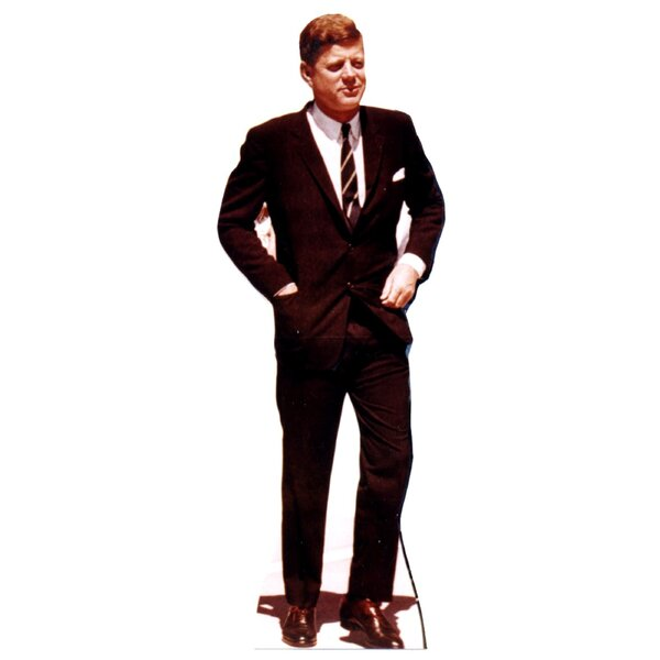 President John F. Kennedy Cardboard Stand-up by Advanced Graphics