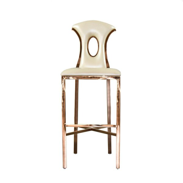 Sabastian 47 Bar Stool by Everly Quinn