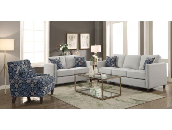 Ortensia 2 Piece Living Room Set by Darby Home Co