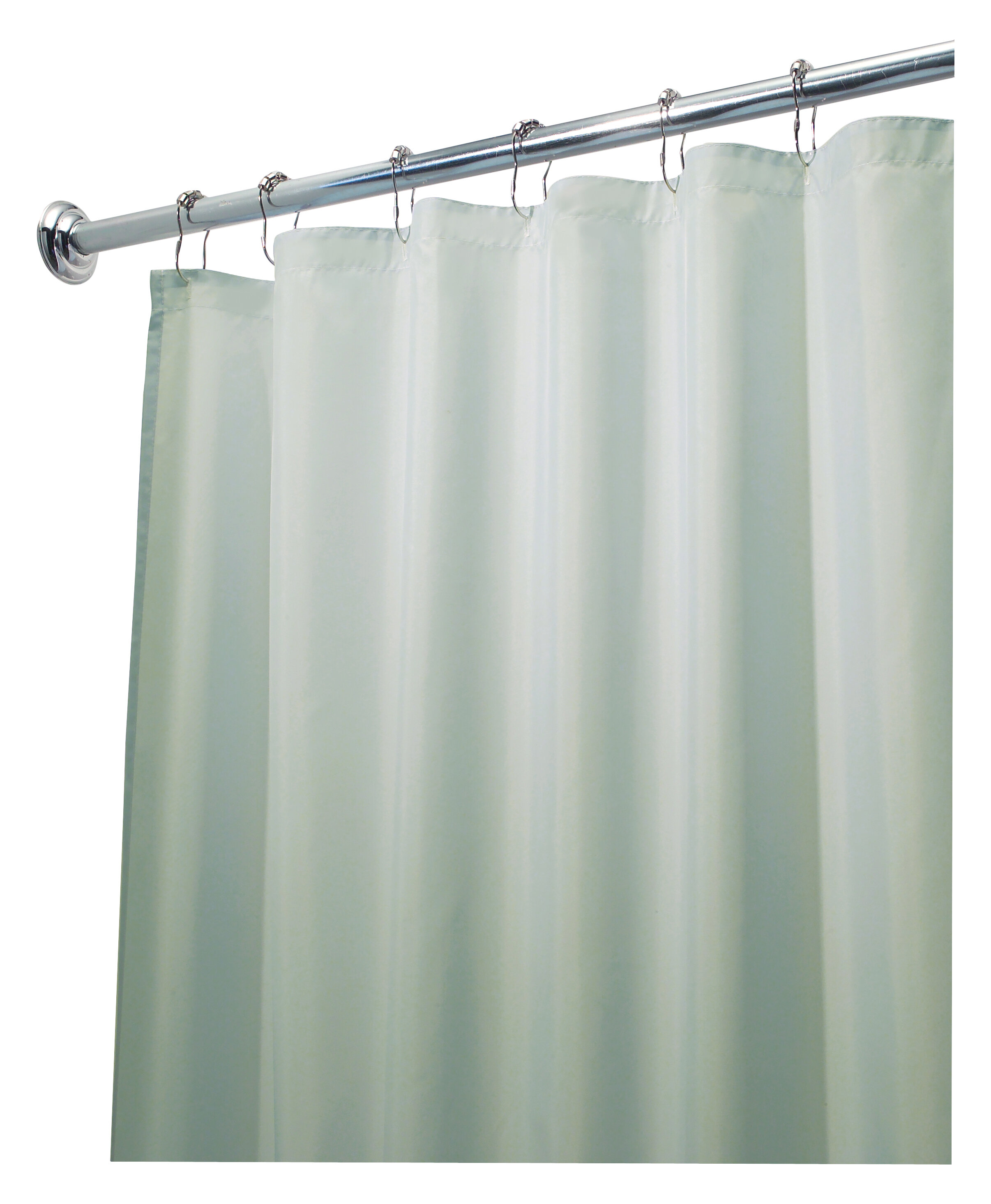 Solid Color Shower Curtain Hooks