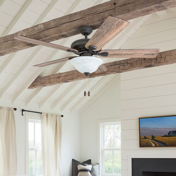 52 Tyner 5 Blade LED Ceiling Fan by Millwood Pines