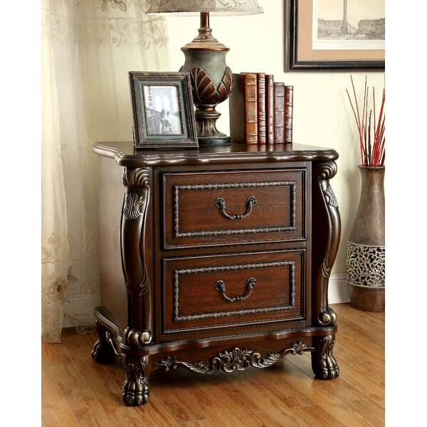 Jannell 2 Drawer Nightstand by Hokku Designs