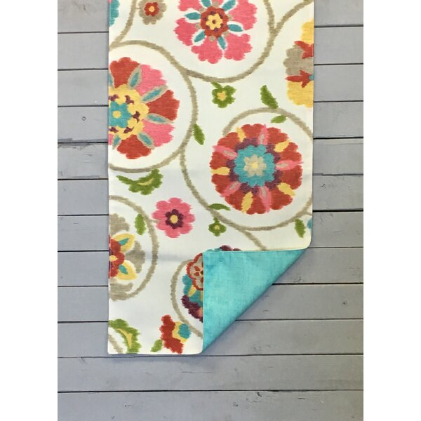 Dahlia Reversible Table Runner by Winston Porter