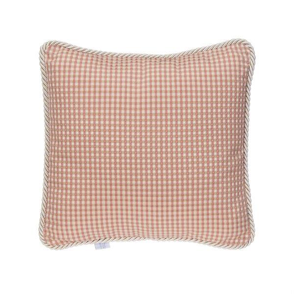 Robb Beige/Pink Throw Pillow by Viv + Rae