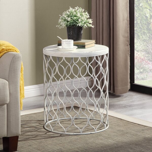Hitterdal End Table by Highland Dunes