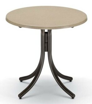 Werzalit Round Dining Table by Telescope Casual