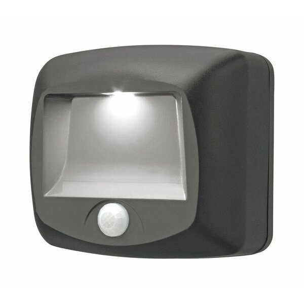 Plastic Motion-Sensing 1 Light LED Stair Lights by Mr. Beams