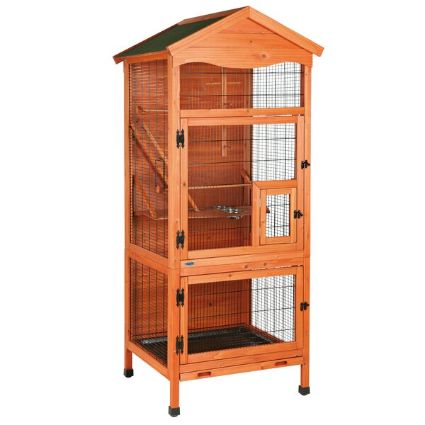 Lucille Aviary Free Standing Bird Cage by Tucker Murphy Pet