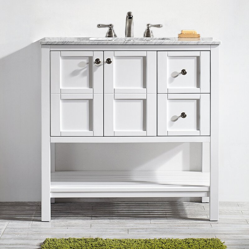 wood vincent keywest vanity place royal bath solid bathroom grey gray hm