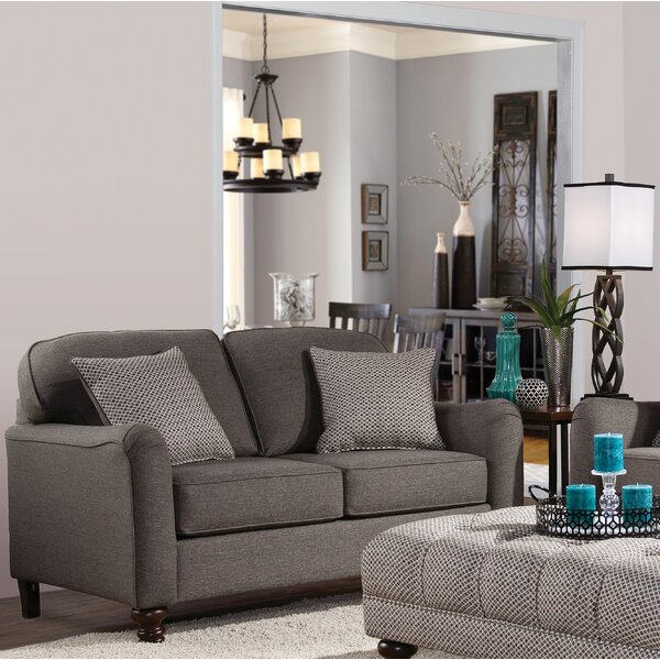 Brand New Votaw Loveseat by Charlton Home by Charlton Home