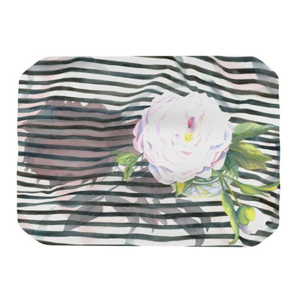 Peony N Placemat by KESS InHouse