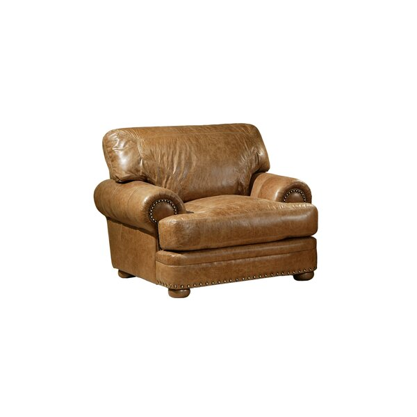 Houston Club Chair by Omnia Leather Omnia Leather