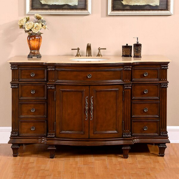 Hathaway 60 Single Sink Cabinet Bathroom Vanity Set by Astoria Grand