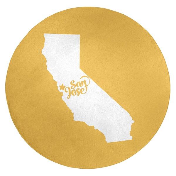 San Jose California Poly Chenille Rug