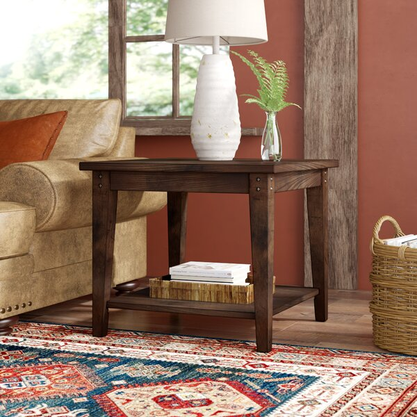 Kalene Square End Table by Loon Peak