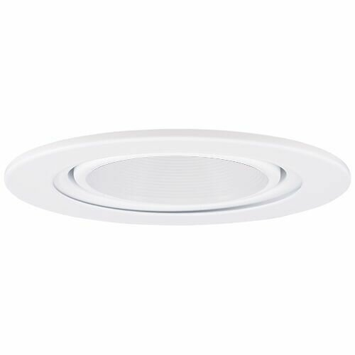Gimbal Ring Baffle 4 LED Recessed Trim by Elco Lighting