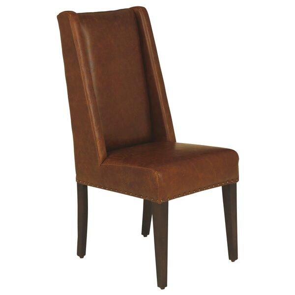 Ken Genuine Leather Upholstered Dining Chair By Red Barrel Studio