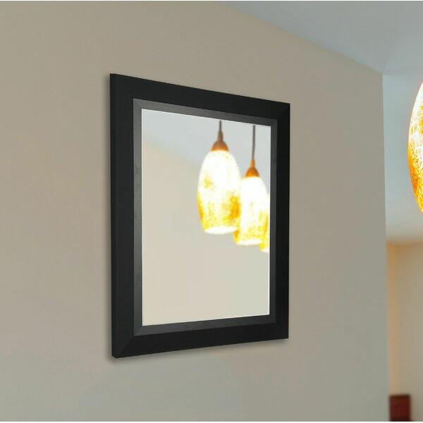 Black Handcrated Wall Mirror by Brayden Studio