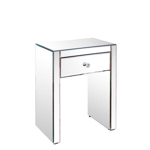 Kraemer 1 Drawer Nightstand by House of Hampton