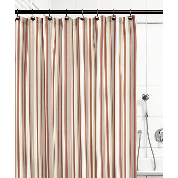 Jaden Stripe Shower Curtain by Ellis Curtain