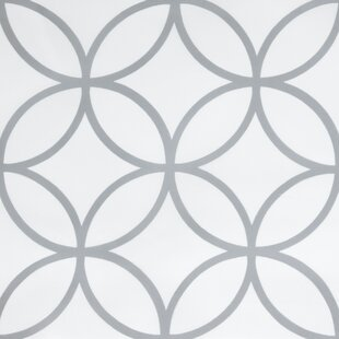 Affordable Price Faust Trellis Fabric Shower Curtain By Ebern Designs