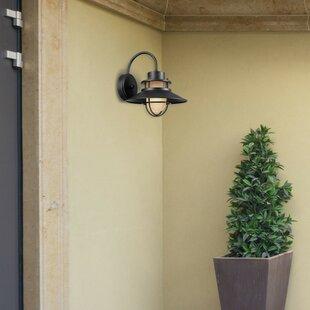 Best Waterton Outdoor Barn Light By Breakwater Bay