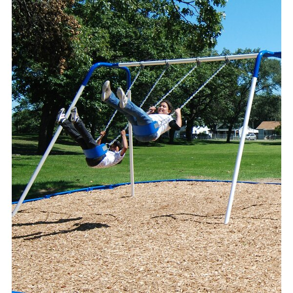 2-Place Bipod Swing Set by Kidstuff Playsystems, Inc.