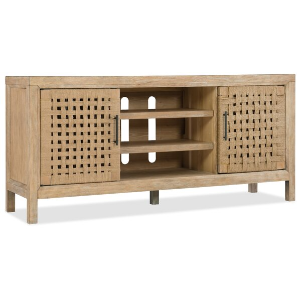 Wabi Sabi Woven Door 64 TV Stand by Hooker Furniture