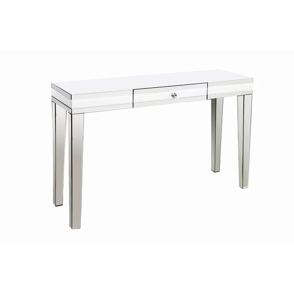 Review Bagley Mirrored Console Table