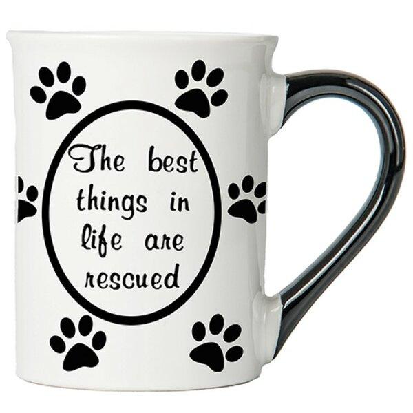 20 oz Pet Stoneware Coffee Mug by New Morning Imports