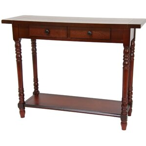 Foyer Console Table with 2 Drawers by Oriental Furniture