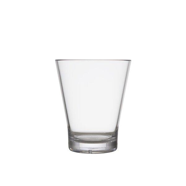 Janzen 10 oz. Glass Juice Glass (Set of 6) by Canora Grey