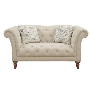 Tab Chesterfield Loveseat by Canora Grey
