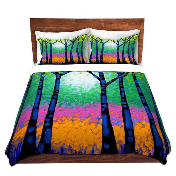 Mauney John Nolan Seven Trees Microfiber Duvet Covers by Red Barrel Studio