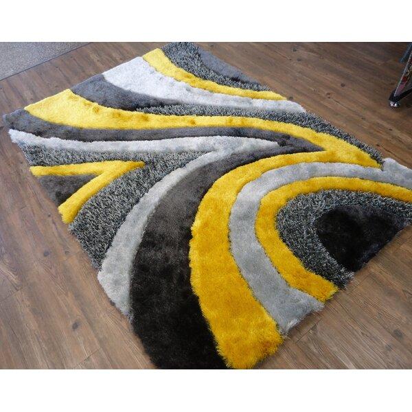 Rug Factory Plus Hand Tufted Gray Yellow Area Rug Wayfair