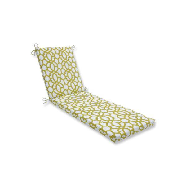 Geo Indoor/Outdoor Chaise Lounge Cushion by Alcott Hill
