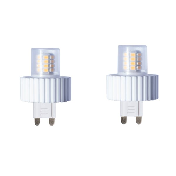 5W G9 Dimmable LED Capsule Light Bulb (Set of 2) by Bulbrite Industries