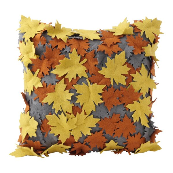 Fall Leaves Throw Pillow by Hallmark Home & Gifts