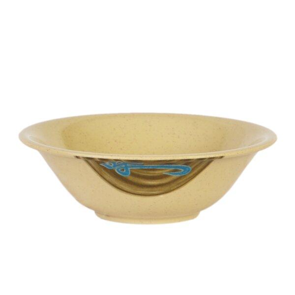 Heidi 15 oz. Melamine Noodle Bowl (Set of 12) by Bloomsbury Market