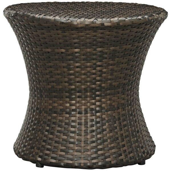 Haddon Outdoor Patio Side Table by Bay Isle Home