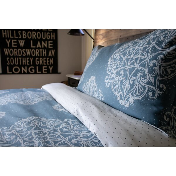 Maclean Medallion Reversible Comforter Set